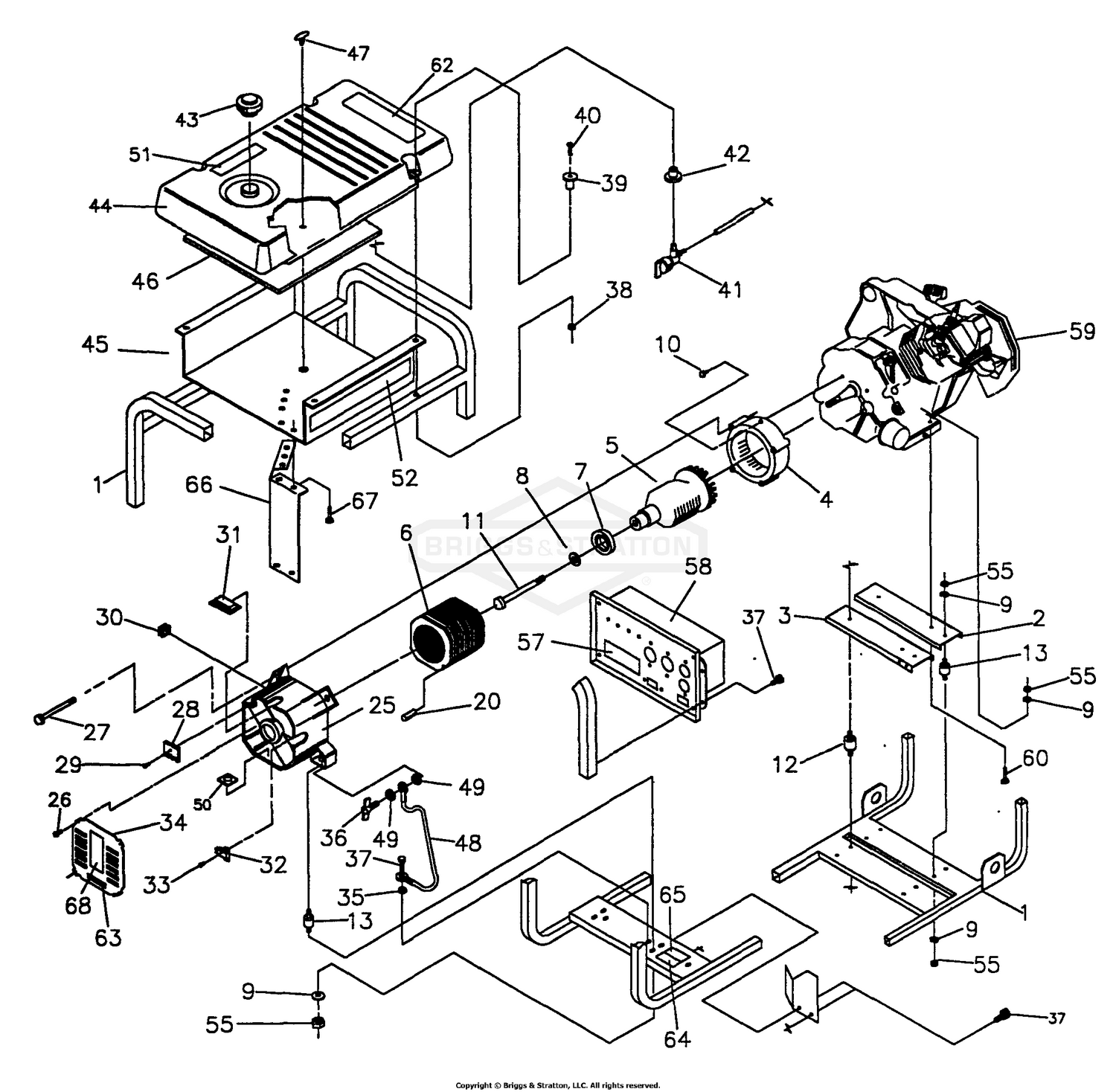 65795gs Rectifier Wiring Diagram Library 4 Wire Regulator For Scooter Briggs Amp Stratton Power Products Del 26072017021729 9885 2 Generator