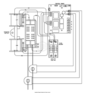 [SCHEMATICS_48IU]  071019-0 Briggs and Stratton Transfer System 200 Amp Automatic Transfer  Switch w/ACCM2 - PartsWarehouse | Briggs And Stratton Transfer Switch Wiring Diagram |  | Parts Warehouse