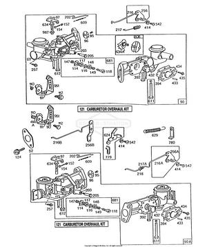 130232-1752-01 Briggs and Stratton Engine | PartsWarehouse