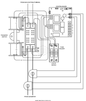 transfer switch wiring schematic 071055 0 briggs and stratton transfer system 100 amp automatic  transfer system 100 amp automatic