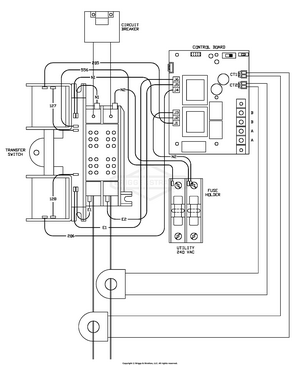 automatic transfer switch wiring diagram Images Gallery