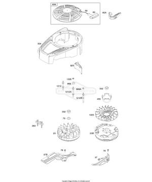 122R02-0009-H1 Briggs and Stratton Engine - PartsWarehouse