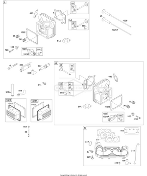 44M777-0729-B1 Briggs and Stratton Engine | PartsWarehouse