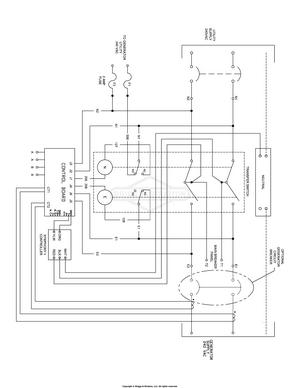 briggs stratton 16 hp tractor wiring diagram