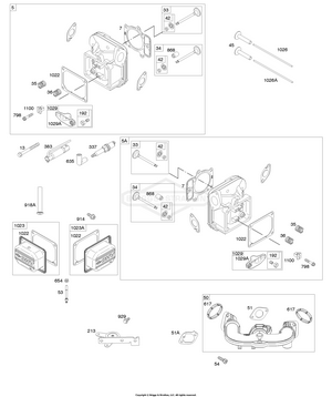 40U877-0005-B1 Briggs and Stratton Engine | PartsWarehouse