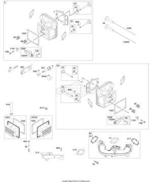 44N677-0007-B1 Briggs and Stratton Engine | PartsWarehouse