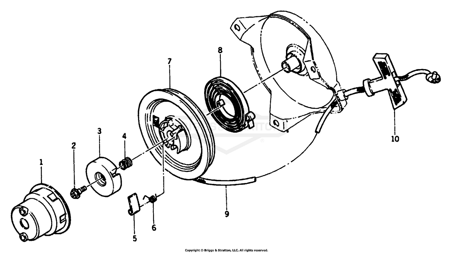 Wiring Diagram Database: Briggs And Stratton Recoil