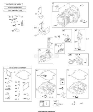 31C707-0026-G1 Briggs and Stratton Engine | PartsWarehouse