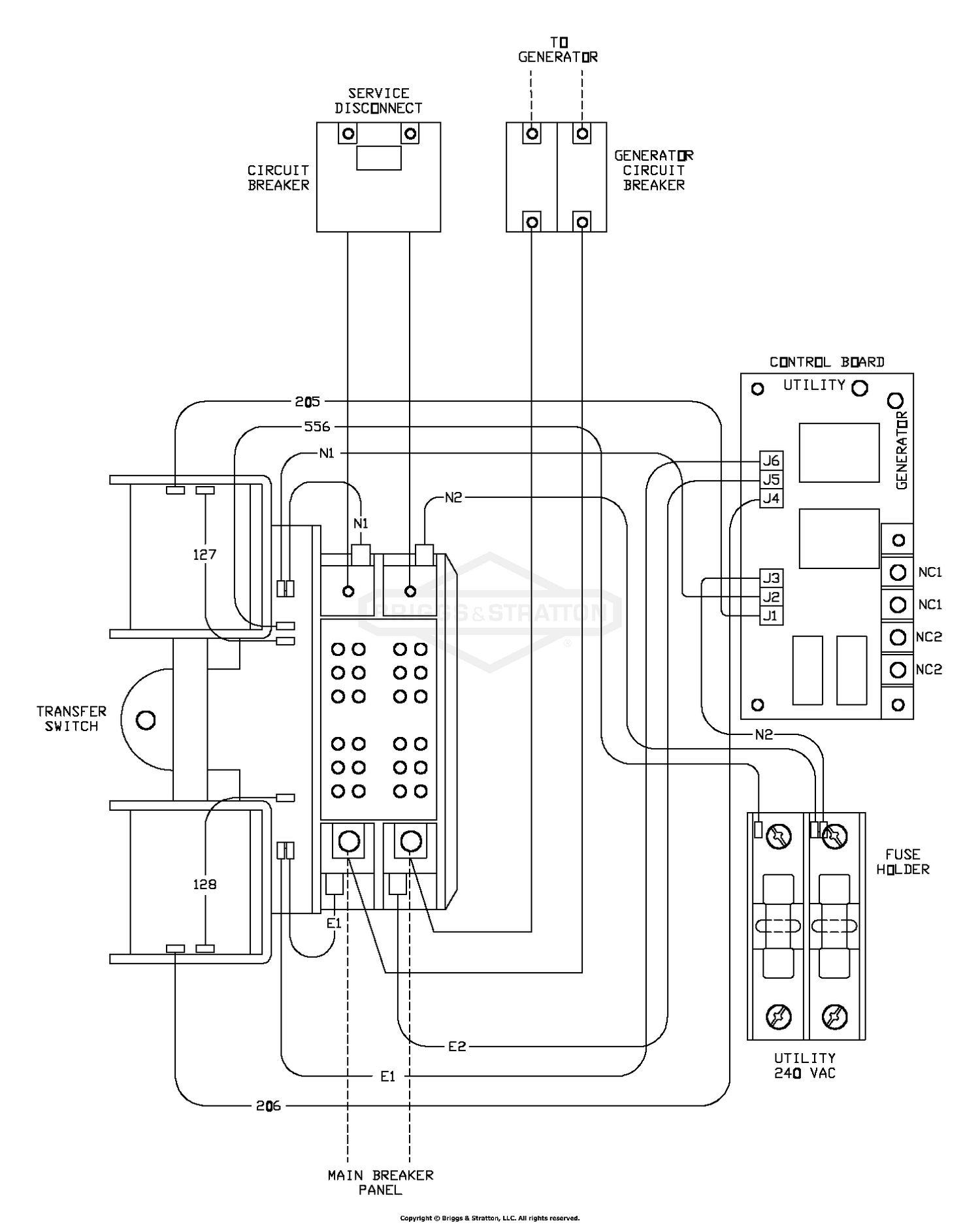 Wiring Diagram - Transfer Switch