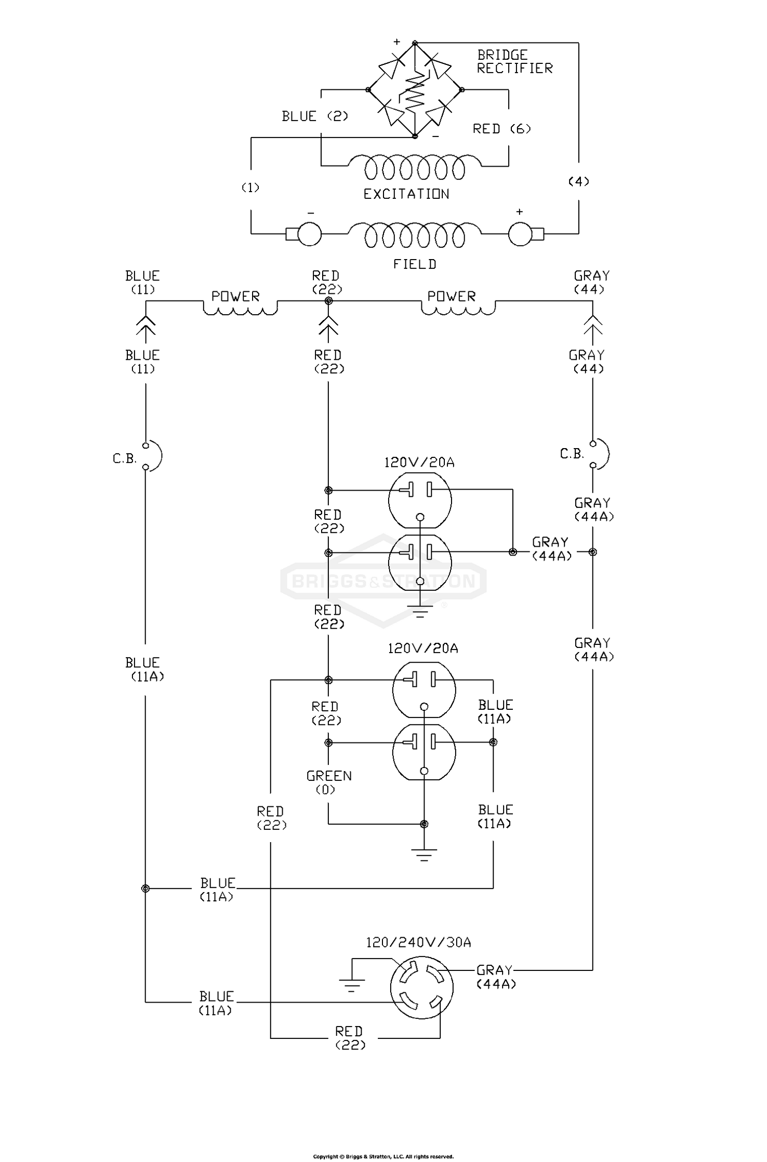 Briggs Amp Stratton Power Products Del 26072017021729 1677 0 Wiring Diagram For House Generator Schematic