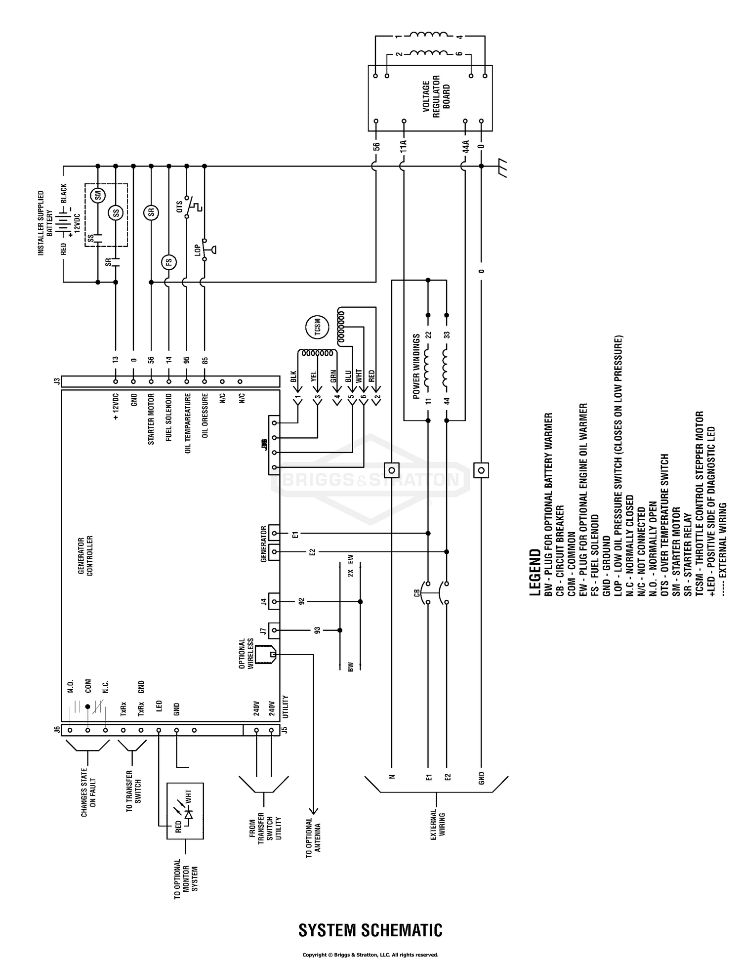 Briggs Amp Stratton Power Products Del 26072017021729 040503 01 200 Electrical Wiring Diagram Schematic Standby Generator