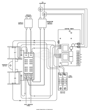 transfer switch wiring schematic 071046 00 briggs and stratton transfer system 200 amp automatic  071046 00 briggs and stratton transfer
