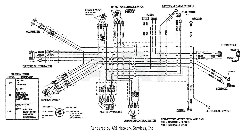 Exmark Lazer Z Hp S N 160 000 169 999 Lhp4417ka S N 150 000 189 999 1998 Lhp4818kc S N 150 000 189 999 1998 17 Hp Kawasaki Electrical Diagram
