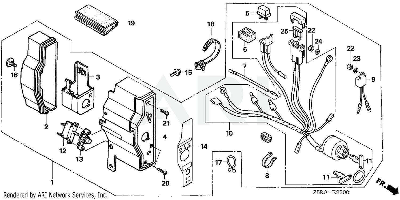Honda 32197-ZE1-003 Sub-Wire Harness