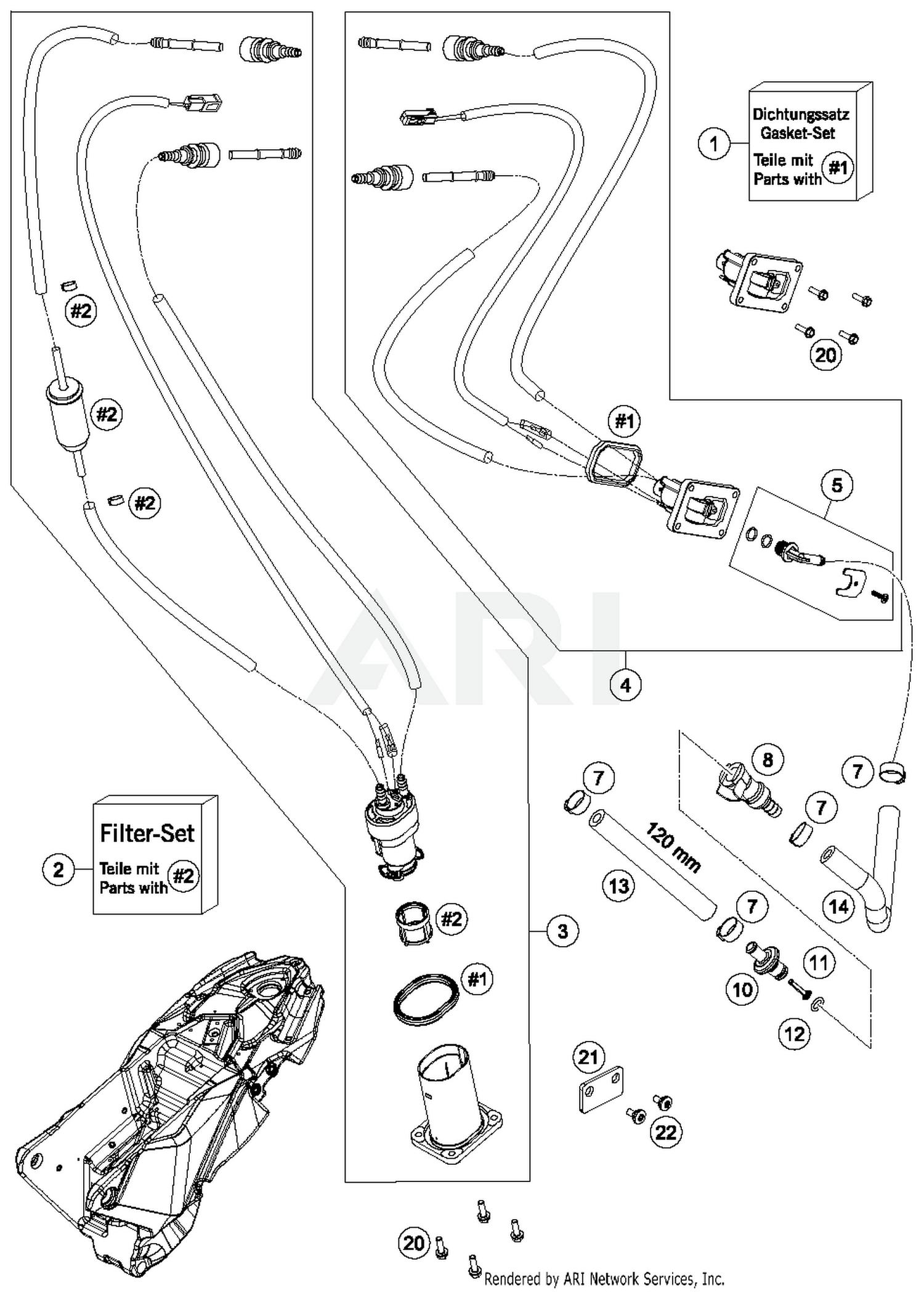 2017 Husqvarna 701 Enduro Fuel Pump Parts - Best OEM Fuel Pump Parts