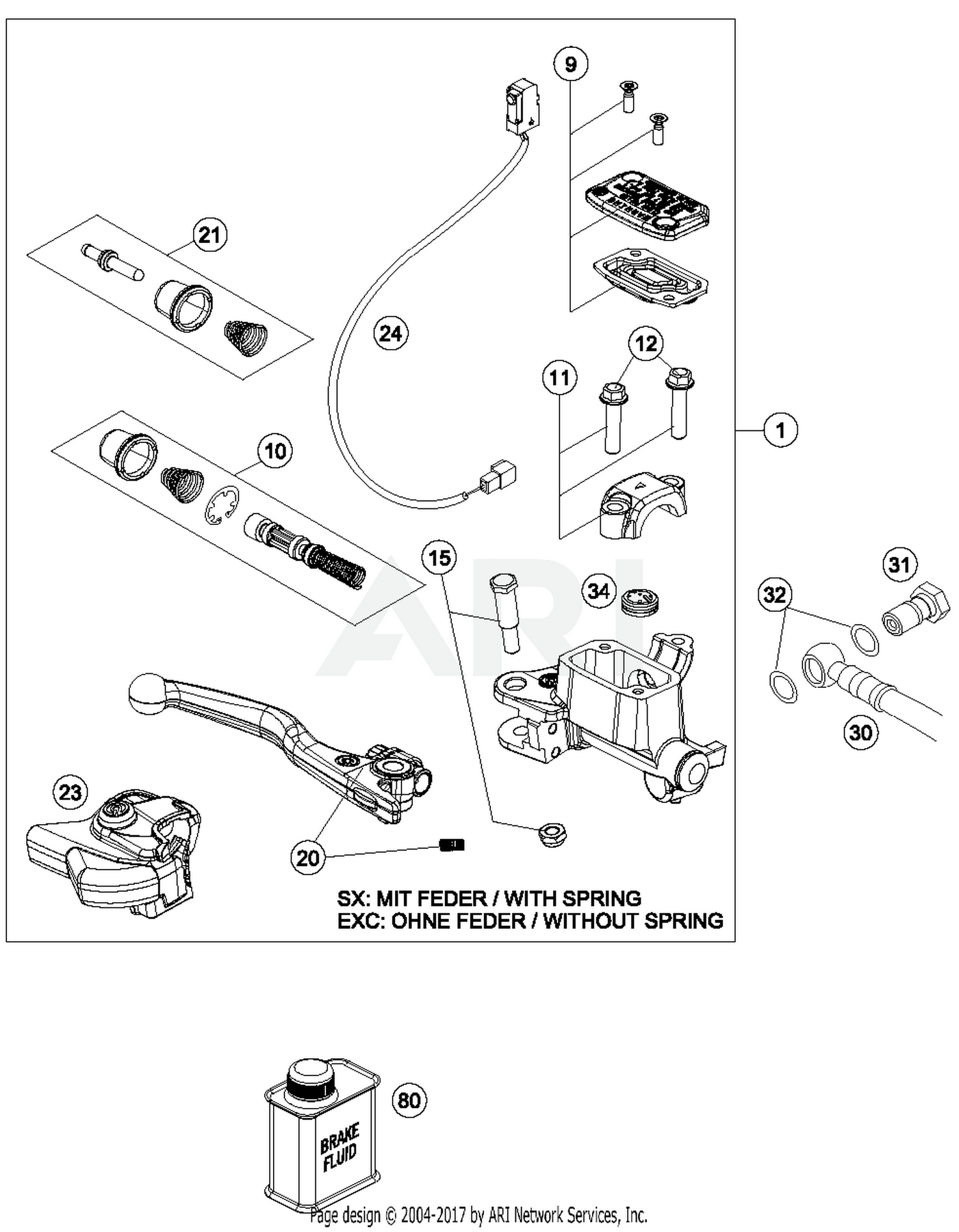 2017 Husqvarna Fe 501 Hand Brake Cylinder Parts Best Oem Aris Fog Light Wiring Diagram Schematic Search Results 0 In Schematics