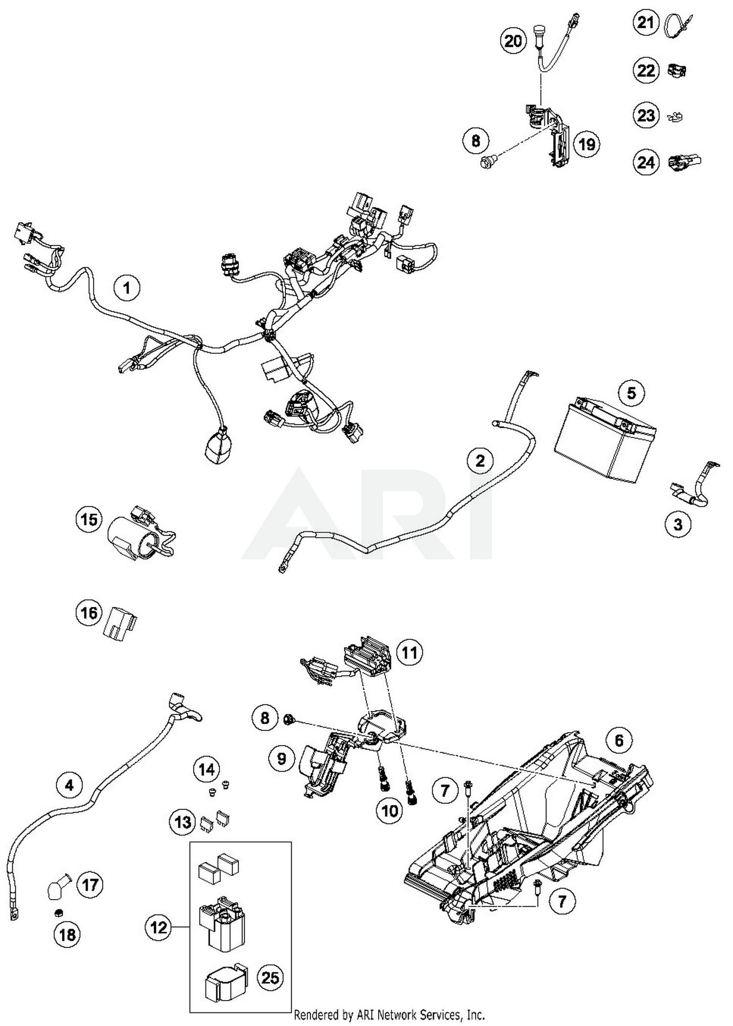 Awesome 2019 Husqvarna Fc 450 Wiring Harness Parts Best Oem Wiring 101 Ziduromitwellnesstrialsorg