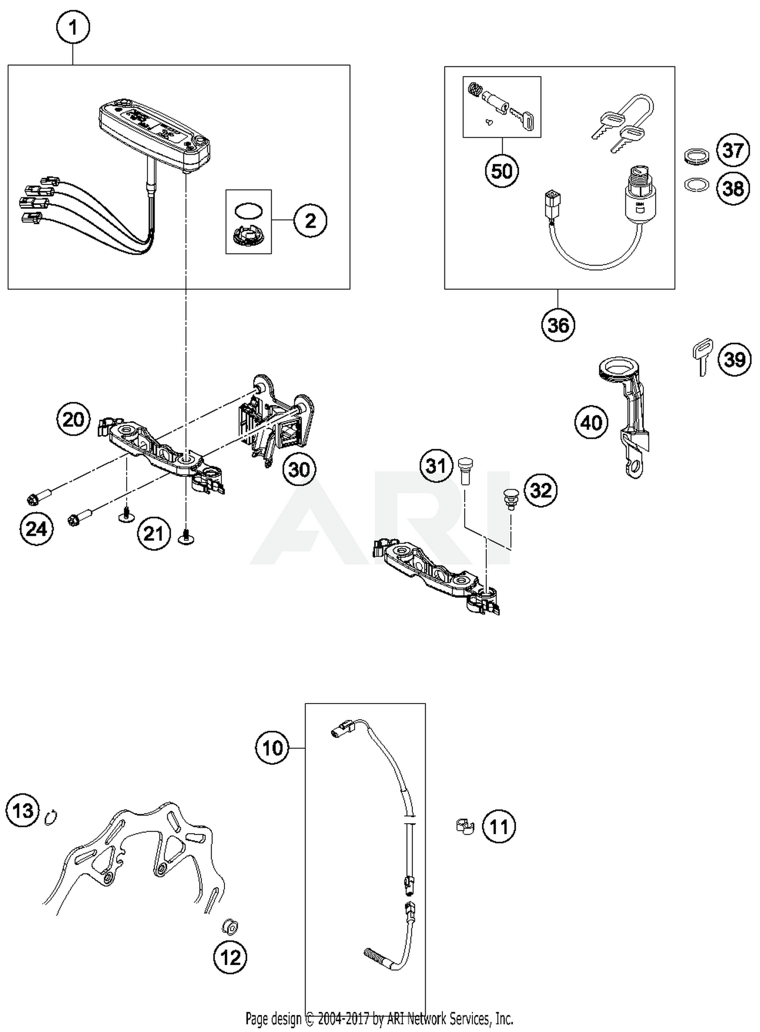 Diagram Part # 30 Quantity Required: 1. Wiring Harness