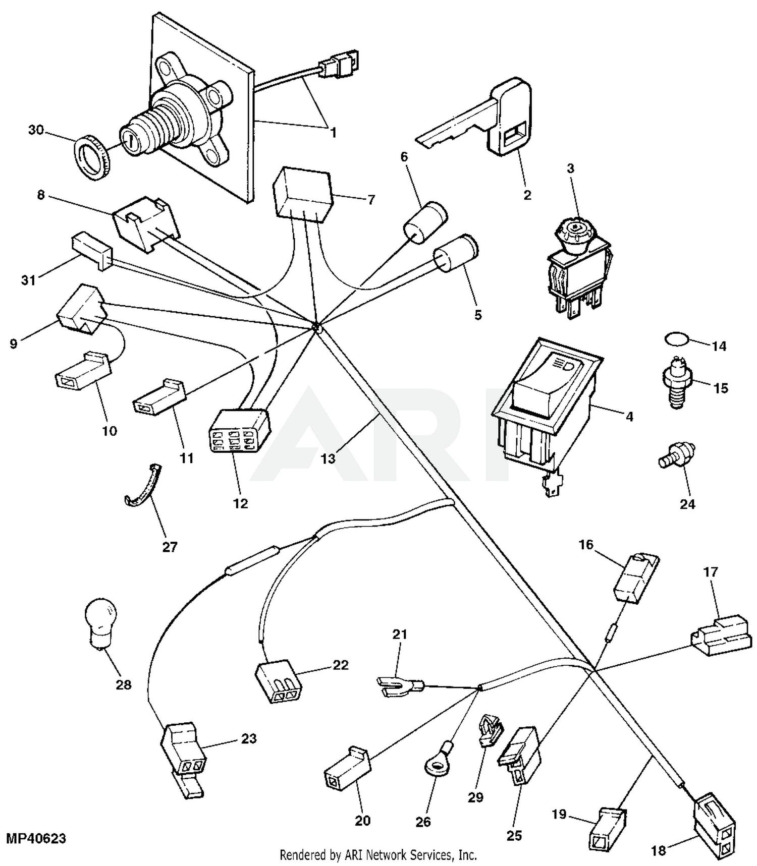 John Deere GT242 Garden Tractor (Gear) Without Mower Deck -PC2342 1993  Model M0G242B025001-035000 GT242 Garden Tractor (Gear) Without Mower Deck  -PC2342 1994 Model M0G242B035001-045000 GT242 Garden Tractor (Gear) Without  Mower Deck -PC2342 | Gt242 Wiring Diagram |  | Weingartz