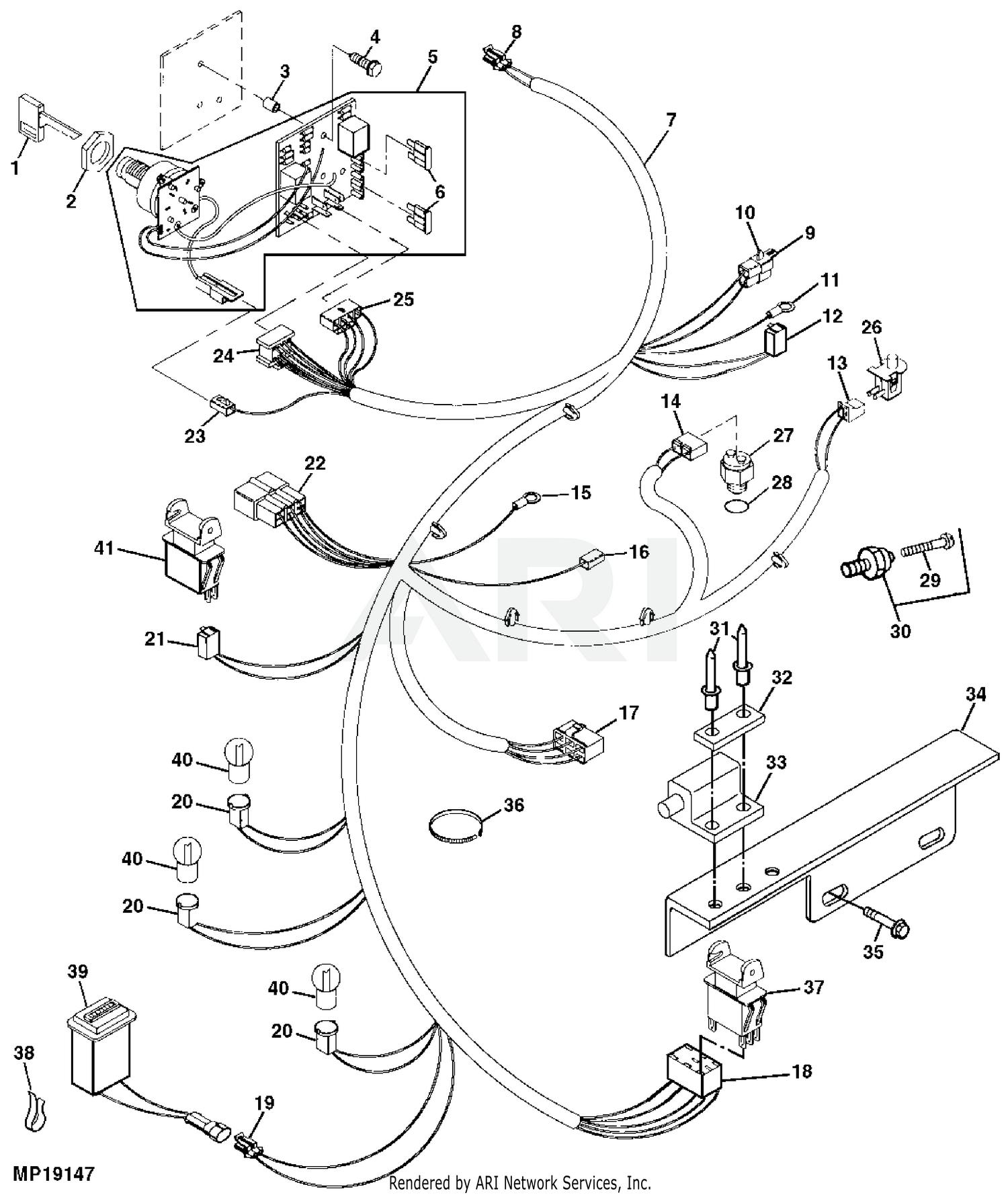 John Deere 335 Lawn & Garden Tractors Without Mower Deck -PC2428 1999 Model  M00335C070001-085000 335 Lawn & Garden Tractors Without Mower Deck -PC2428  2000 Model M00335C085001-095000 335 Lawn & Garden Tractors Without | John Deere 345 Engine Diagram |  | Weingartz