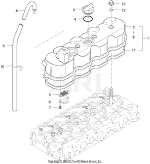 Engine - Cylinder Head Cover Group