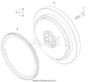 Engine-  Flywheel Group