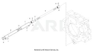 Transmission - Propeller Shaft Group