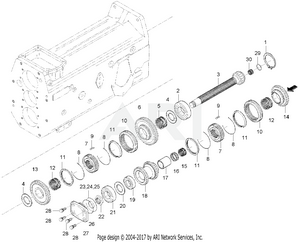 Transmission - Shaft 1 Group (363100003-)