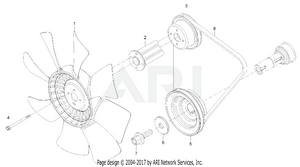 Engine-  Cooling Fan Group
