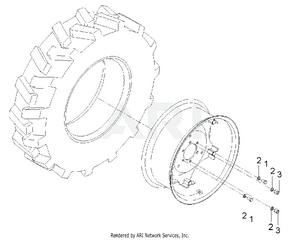 Transmission - Rear Wheel Group