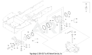 Front Axle Bracket Group