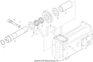 Transmission - Rear Shaft Group (-263100012)