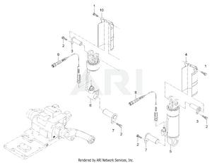Hydraulic - Lift Cylinder Group