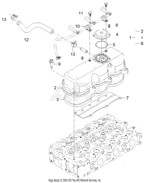Engine-  Cylinder Head Cover Group
