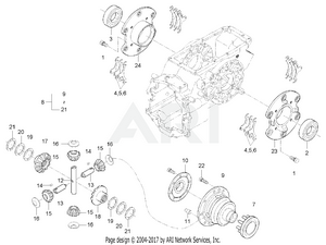 Transmission - Rear Differential System Group