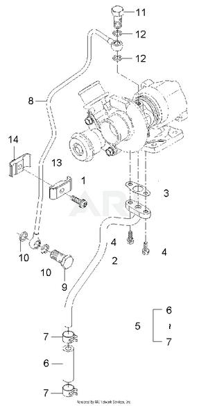Engine-  Turbo Pipe Group