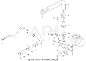 Engine - Water Hose Group