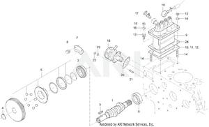Engine - Fuel Camshaft Group