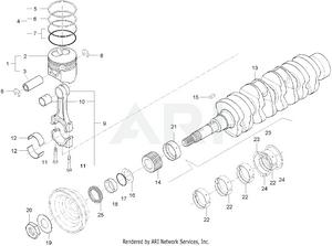 Engine - Piston & Crankshaft Group