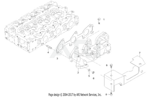 Engine-  Exhaust Manifold Group