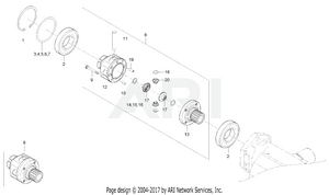 Transmission - Front Differential Group