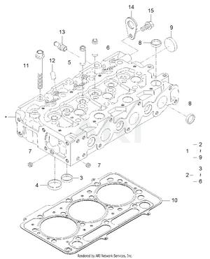 Engine - Cylinder Head Group