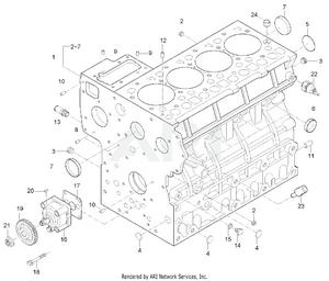 Engine - Cylinder Block Group