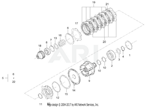 Transmission - PTO Clutch Group