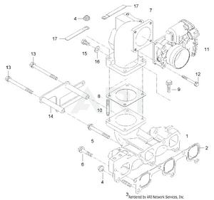 Engine-  Inlet Manifold Group