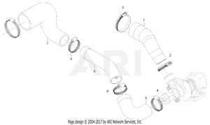 Engine-  Intake Pipe Group