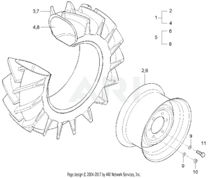 Option - Front Wheel Group