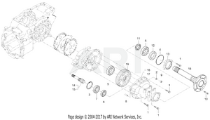 Transmission - Rear Axle Group