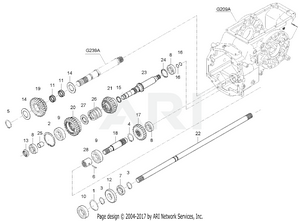 Transmission - Front Drive System Group