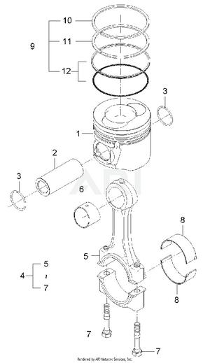 Engine - Piston & Connecting rod Group